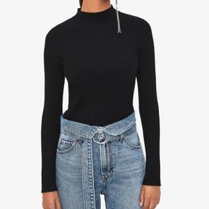 Bershka ribbed sweater